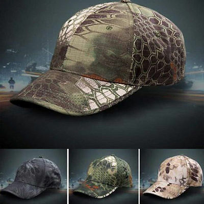 Men's Military Style Baseball Cap Camouflage Tactical Hunting Shooting Army Hats