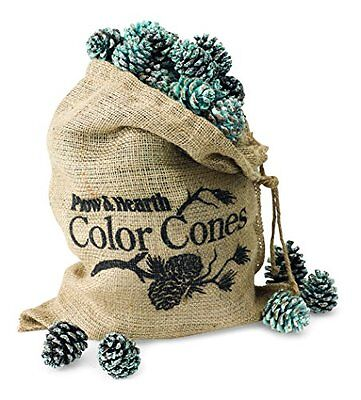 Fireplace Color-Changing 2 Lb. Color Cone Refill Bag Plow & Hearth New