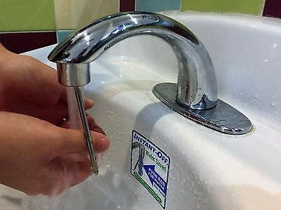 INSTANT-OFF Automatic Commercial Faucet 400 Water Saver,Theft-Proof, Durable