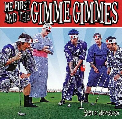 Me First and the Gimme Gimmes - Sing in Japanese [New CD]
