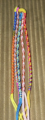 From Peru New Multi-Color Friendship Bracelets Preteen 1 Lot of 20 Mixed Round