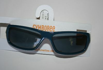 New Gymboree Gone Surfin' Line Surf Blue Rectangular Sunglasses Size 4 & up NWT