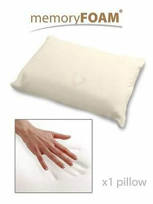 New Visco Elastic Traditional Shape 70x40cm Memory Foam Pillow Neck Back Support