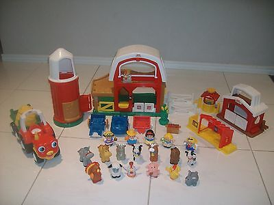 Fisher Price Little People Farm Including Silo and Tractor