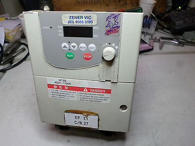 TOSHIBA VARIABLE SPEED DRIVE - VFS9-4015PL-WP -- 1.5kW (2HP) 3Ph 380/500 Supply