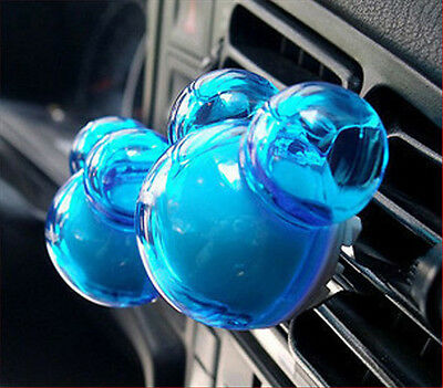 2PCS Air Freshener Scent Odor Perfume Diffuser For Auto Car Vehicle SUV New