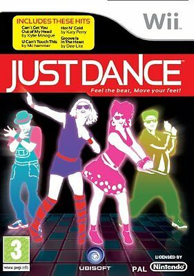 Just Dance Wii Nintendo jeu jeux game games lot spelletjes spellen 1511