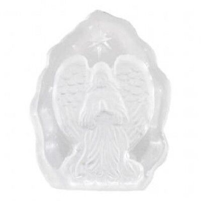 Beautiful Small Glass Angel Plaque - lovely gift idea