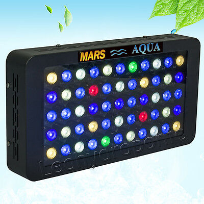 165W LED Aquarium Light Dimmable Full Spectrum Reef Coral Grow SPS LPS Tank Lamp