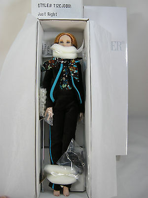 Tonner 2012 Strawberry Blond Hair Just Right  Cami Doll Brown Eyes - Nrfb