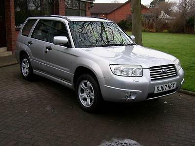 2007 SUBARU FORESTER 2.0 X 5dr