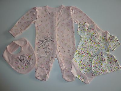 Disney BAMBI and THUMPER Little Girsl 4 Piece Set NWT