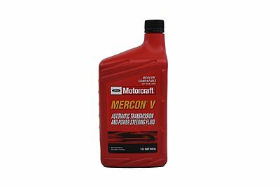 Genuine Ford XT-5-QMC MERCON-V Automatic Transmission and Power Steering Fluid -