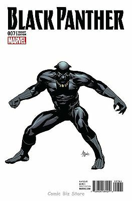 Black Panther #7 (2016) Scarce Deodato 1:10 Teaser Variant Cover Marvel Now