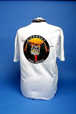 L.A. County Fire Department Air Operations Sikorsky T Shirt XXL,4X,5X  ONLY