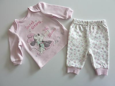 Disney MINNIE MOUSE Sweet Dreams Little Minnie PJ's NWT