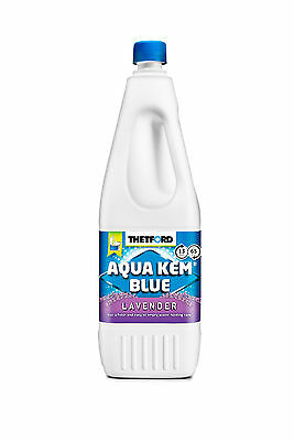 Thetford Toilet Chemicals Aqua Kem Blue LAVENDER Sanitary Fluid 2L for Motorhome