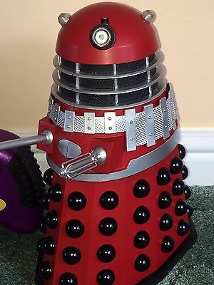 Dr Doctor Who Product Enterprise Red Dalek Super Rare Boxed Fully Working Order