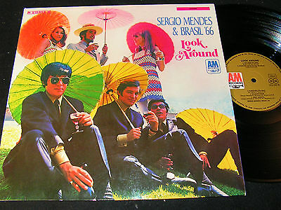 SERGIO MENDES & BRASIL'66 Look Around / German LP 1968 A&M RECORDS 212033