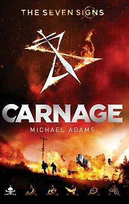Carnage by Michael Adams Paperback Book