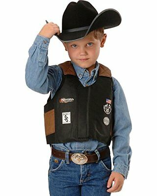 Kid's ~RODEO VEST~ Mutton Bustin/Buster  BLACK - Bullrider Costume 5056401