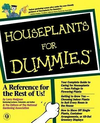 Houseplants for Dummies by Larry Hodgson Paperback Book (English)