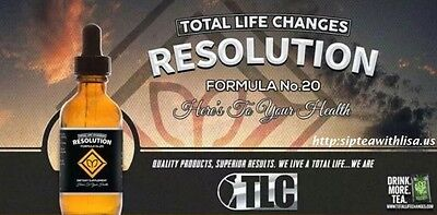 Tlc Resolution Drops +Diet ***weight Loss***over Month Supply***free Shipping