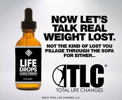 Tlc Life Drops *weight Loss* Energy Boost Appetite Suppress **month Supply**