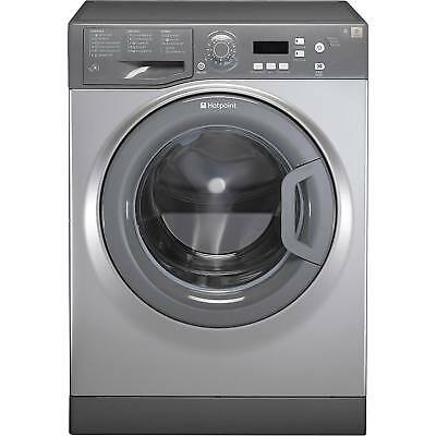 Hotpoint Aquarius WMAQF721G A+ Rated 7Kg 1200 Spin Washing Machine in Graphite
