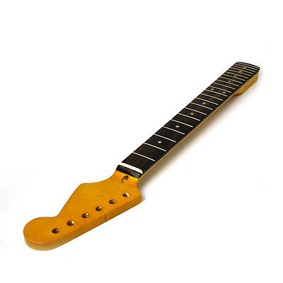 Tiger Flame Electric Guitar Neck 22Fret For ST Part Maple Rosewood Smooth Finish