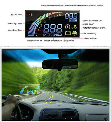 ActiSafety Multi Car HUD Vehicle-mounted Head Up Display