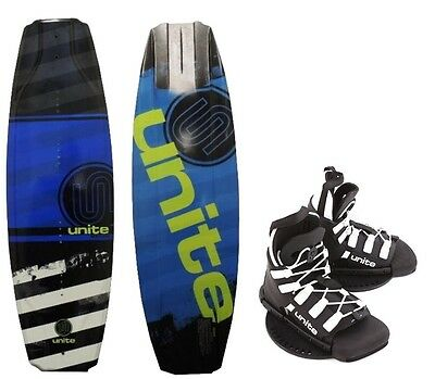 Base Sports Kinder Wakeboard Manuel Unite Wakeboardbindung 129 blue