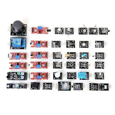 37-in-1 Sensor Module Circuit Board Kits Set for ARDUINO DIY Projects with Box