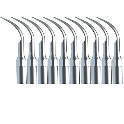 10x Dental Ultrasonic Scaling Tips fit EMS Woodpecker Scaler Handpiece G1 ksb