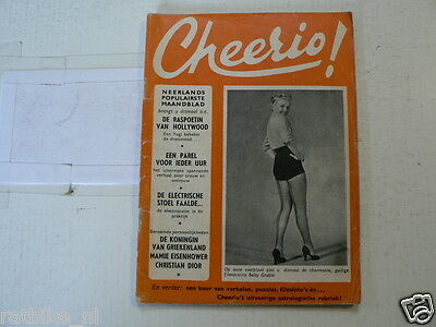 Cheerio  Pin-Up Movie Girls Nr 84 Marilyn Monroe,jane Russell,grable,clift Montg