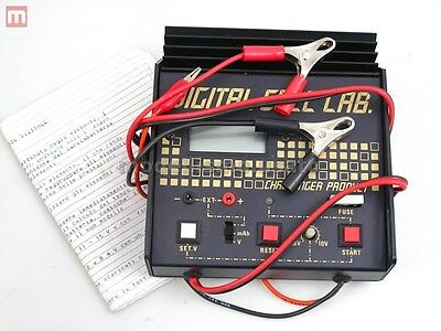 Challenger Product Digital Cell-Lab Caricabatterie Vintage Charger modellismo