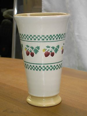 Nicholas Mosse Pottery Strawberry Vase made in Ireland  In good condition