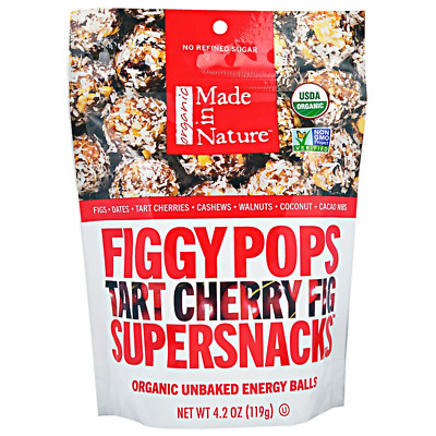 New Made In Nature Organic Figgy Pops Supersnacks Tart Cheery Fig Daily Food
