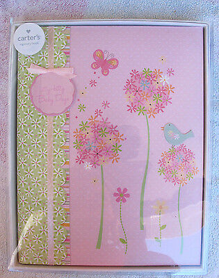 "Carter's ""itty bitty baby day's""  Baby's First Memory Book  Pink"