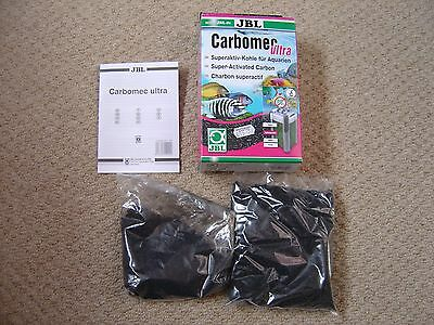Carbomec Ultra Fish Carbon JBL 1 full bag & 1/3rd of a bag (Ref P)
