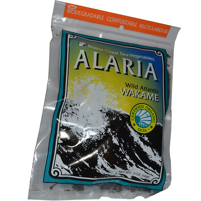 New Maine Coast Sea Vegetables Alaria Wild Atlantic Wakame Cooking Daily Canned
