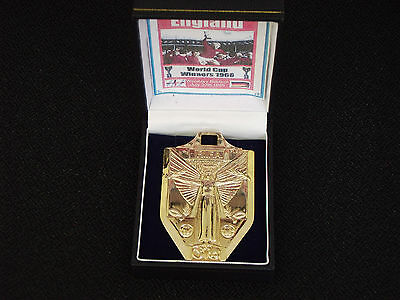 1966 ENGLAND WORLD CUP MEDAL - c/w BOX