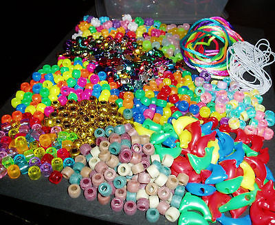 PONY BEAD MAKING KIT  (Beads and Cords)