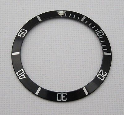 High Quality Replacement Black Bezel Insert For Rolex Submariner 16610 -Uk Stock