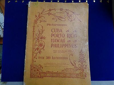 1899 Farm & Fireside Library Cuba, Porto Rico, Hawaii & Phillippines-300 illus.