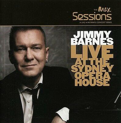 Jimmy Barnes - Max Sessions: Live at the Opera House [New CD]