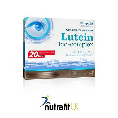 OLIMP LUTEINA BIO COMPLEX 30 caps lutein eyesight vision support healthy eyes