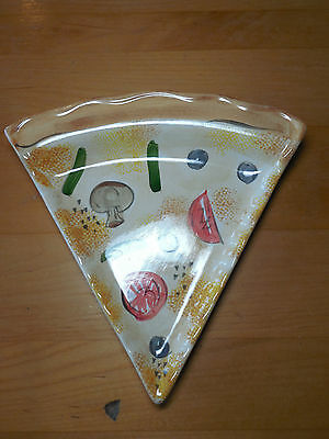 Tabletops Unlimited KITCHEN PREP 201 Set of 6 Pizza Slice Plates 9 1/4