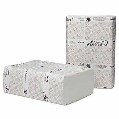 Artisan Folded Towels, 9 1/2 x 10 1/4 WH Optifold, 250 Pack, 12 Packs per Carton