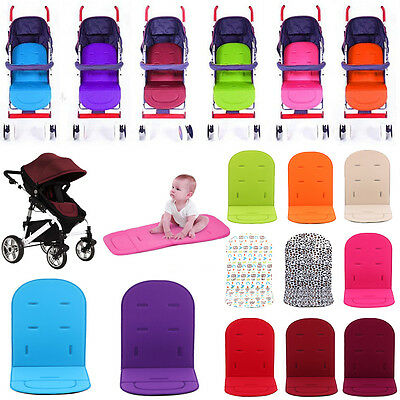 Washable Baby Kids Stroller Pram Pushchair Soft Car Seat Liner Pad Mat Cushion
